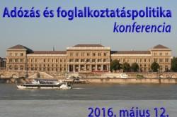 Adózás és foglalkoztatáspolitika konferencia