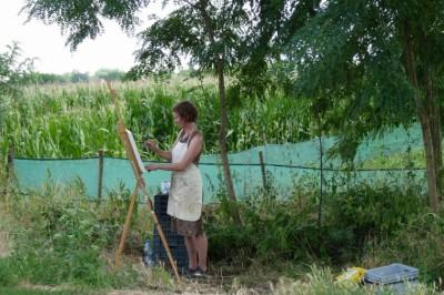 Szüret, festészet és film
