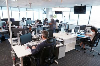Károsak az egylégterű, nagy irodák