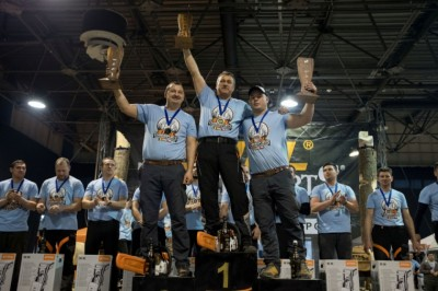 Ismét magyar sportfavágó a dobogó tetején